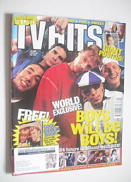 <!--1997-07-->TVHits magazine - July 1997 - Backstreet Boys cover