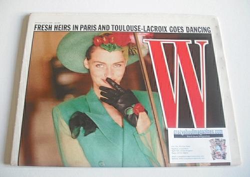 <!--1988-01-14-->W magazine (14-27 January 1988)