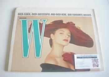 W magazine (26 November - 9 December 1987)