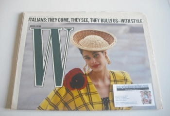 W magazine (28 January - 10 February 1988)