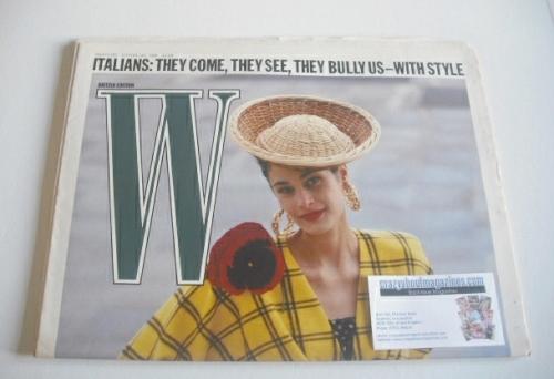 <!--1988-01-28-->W magazine (28 January - 10 February 1988)