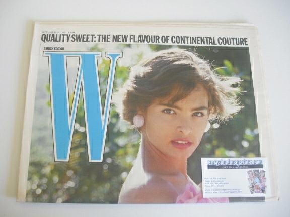 <!--1988-02-11-->W magazine (11-24 February 1988 - Talisa Soto cover)