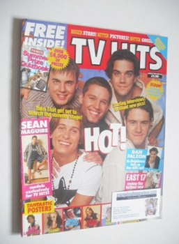 TV Hits magazine - August 1993 - Take That cover