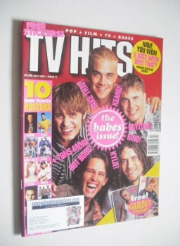 TV Hits magazine - July 1995 - Take That cover
