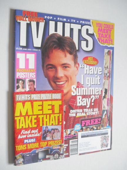 <!--1995-06-->TVHits magazine - June 1995 - Dieter Brummer cover