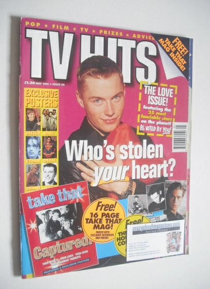 <!--1995-05-->TVHits magazine - May 1995 - Ronan Keating cover
