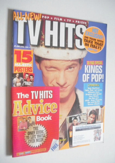 <!--1995-04-->TVHits magazine - April 1995 - Tony Mortimer cover