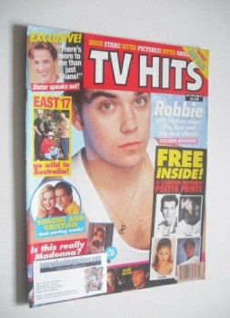 TV Hits magazine - July 1993 - Robbie Williams cover