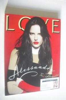 Love magazine - Issue 4 - Autumn/Winter 2010 - Alessandra Ambrosio cover