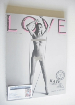 Love magazine - Issue 3 - Spring/Summer 2010 - Kate Moss cover