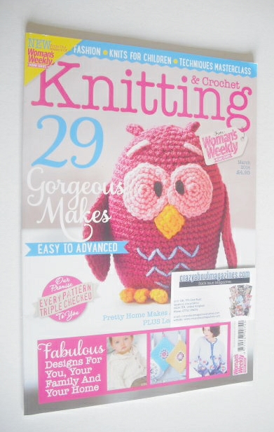 <!--2014-03-->Woman's Weekly Knitting and Crochet Special magazine (March 2