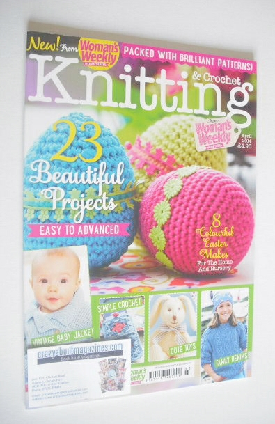<!--2014-04-->Woman's Weekly Knitting and Crochet magazine (April 2014)
