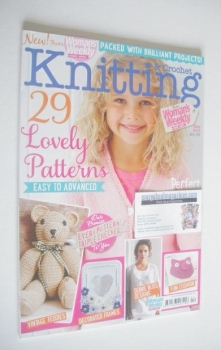 Woman's Weekly Knitting and Crochet magazine (May 2014)