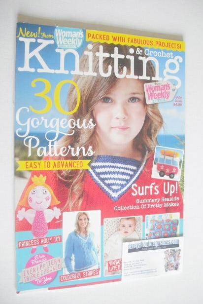 <!--2014-07-->Woman's Weekly Knitting and Crochet magazine (July 2014)