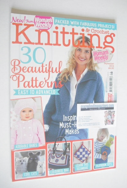 <!--2014-09-->Woman's Weekly Knitting and Crochet magazine (September 2014)