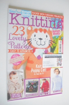 Woman's Weekly Knitting and Crochet magazine (October 2014)