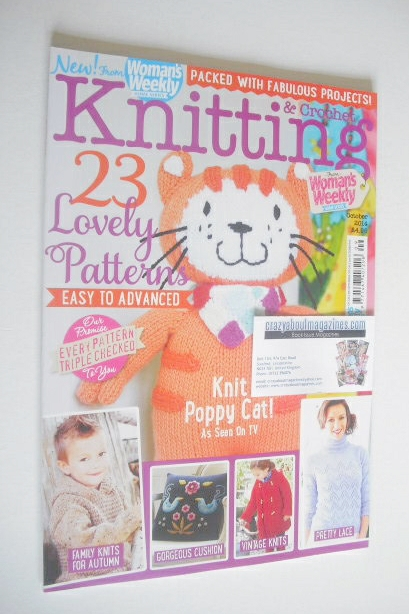 <!--2014-10-->Woman's Weekly Knitting and Crochet magazine (October 2014)
