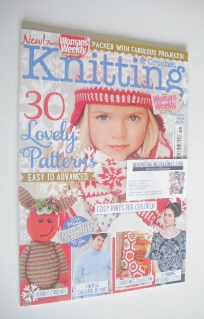 <!--2014-12-->Woman's Weekly Knitting and Crochet magazine (December 2014)