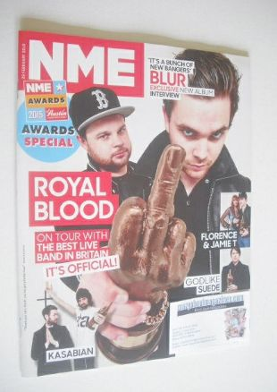 <!--2015-02-28-->NME magazine - Royal Blood cover (28 February 2015)