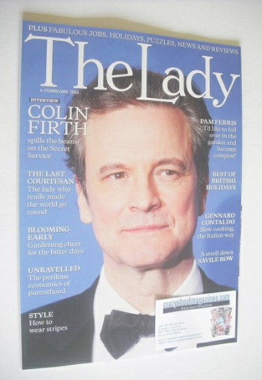 <!--2015-02-06-->The Lady magazine (6 February 2015 - Colin Firth cover)