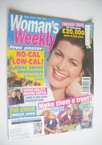 <!--1994-06-28-->Woman's Weekly magazine (28 June 1994)
