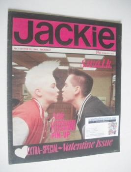 Jackie magazine - 15 February 1986 (Issue 1154)