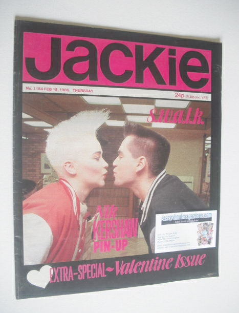 <!--1986-02-15-->Jackie magazine - 15 February 1986 (Issue 1154)