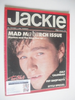Jackie magazine - 1 March 1986 (Issue 1156)