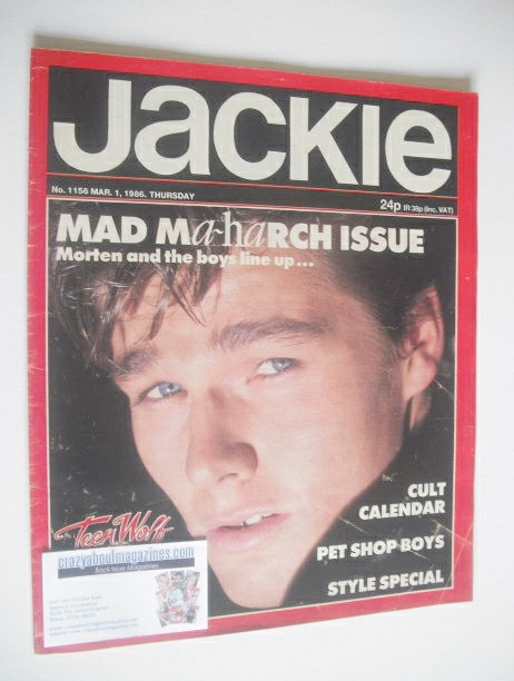 <!--1986-03-01-->Jackie magazine - 1 March 1986 (Issue 1156)