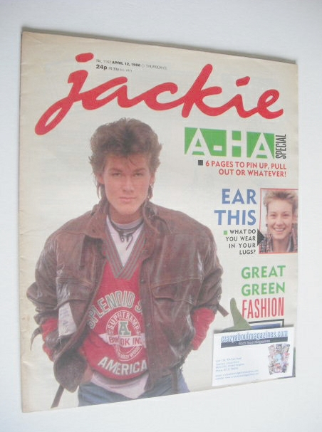 <!--1986-04-12-->Jackie magazine - 12 April 1986 (Issue 1162)
