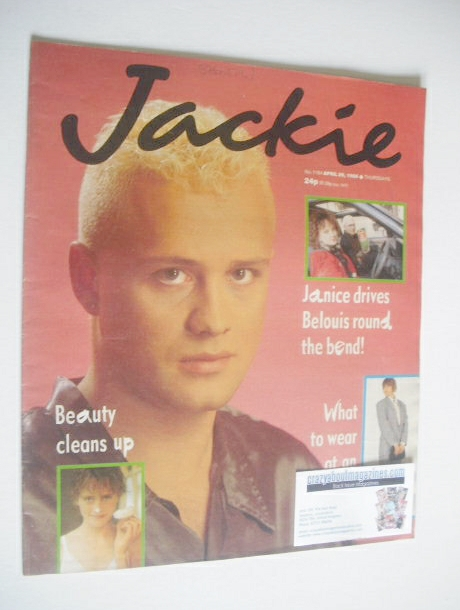 <!--1986-04-26-->Jackie magazine - 26 April 1986 (Issue 1164)