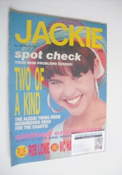 Jackie magazine - 18 May 1991 (Issue 1428)