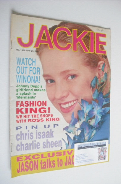 <!--1991-05-25-->Jackie magazine - 25 May 1991 (Issue 1429)
