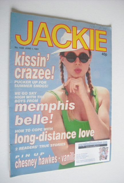 <!--1991-06-01-->Jackie magazine - 1 June 1991 (Issue 1430)