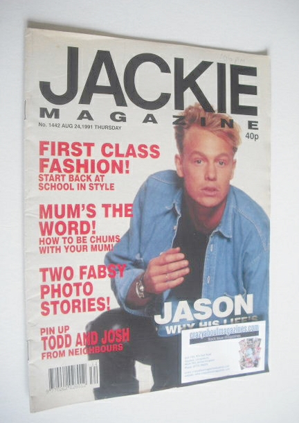 <!--1991-08-24-->Jackie magazine - 24 August 1991 (Issue 1442)