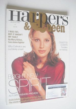 <!--1993-08-->British Harpers & Queen magazine - August 1993
