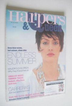 British Harpers & Queen magazine - July 1993