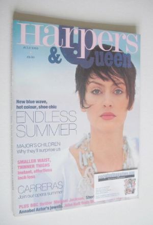 <!--1993-07-->British Harpers & Queen magazine - July 1993
