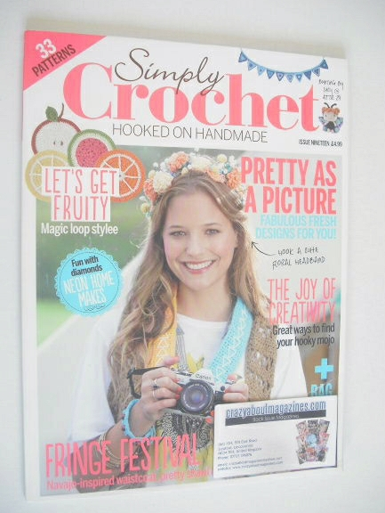 <!--0019-->Simply Crochet magazine - Issue 19