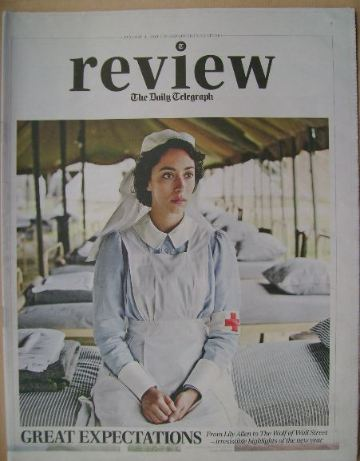 The Daily Telegraph Review newspaper supplement - 4 January 2014 - Oona Cha