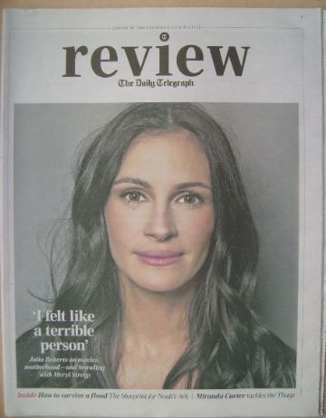 The Daily Telegraph Review newspaper supplement - 18 January 2014 - Julia R