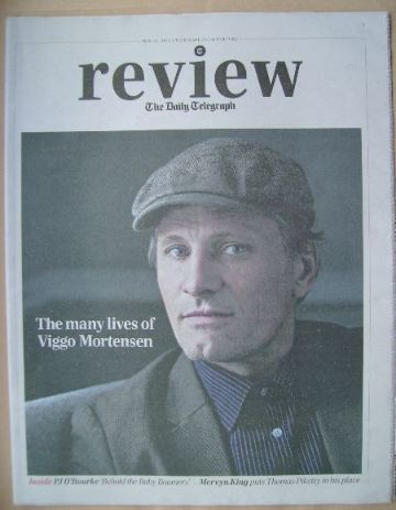 The Daily Telegraph Review newspaper supplement - 10 May 2014 - Viggo Morte