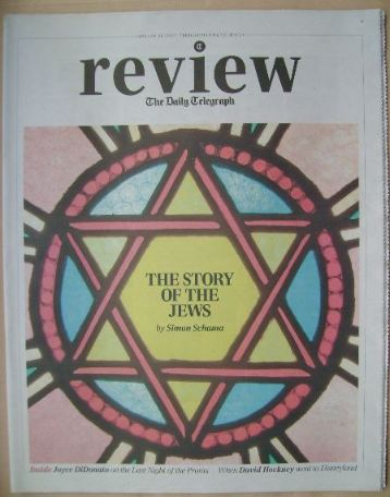 The Daily Telegraph Review newspaper supplement - 31 August 2013 - The Stor