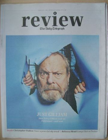 The Daily Telegraph Review newspaper supplement - 15 March 2014 - Terry Gil