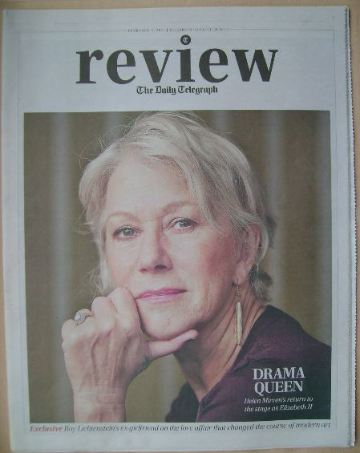 The Daily Telegraph Review newspaper supplement - 9 February 2013 - Helen M
