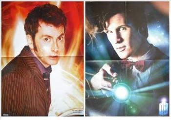 David Tennant / Matt Smith Doctor Who poster
