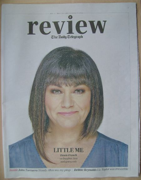 The Daily Telegraph Review newspaper supplement - 17 May 2014 - Dawn French