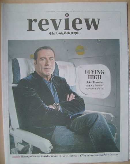 The Daily Telegraph Review newspaper supplement - 8 February 2014 - John Tr