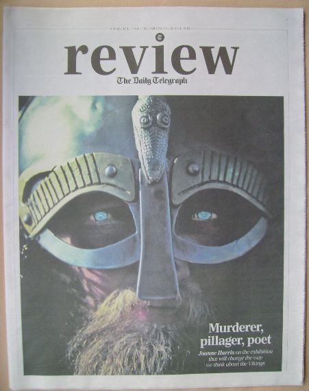 The Daily Telegraph Review newspaper supplement - 1 March 2014 - Viking cov