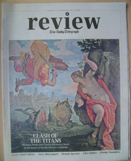 The Daily Telegraph Review newspaper supplement - 8 March 2014